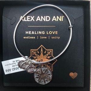 Alex and Ani Healing Love Bracelet